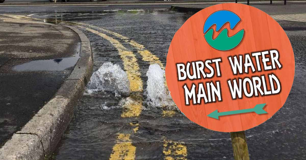 Burst Water Main World is sure to be everywhere this winter!