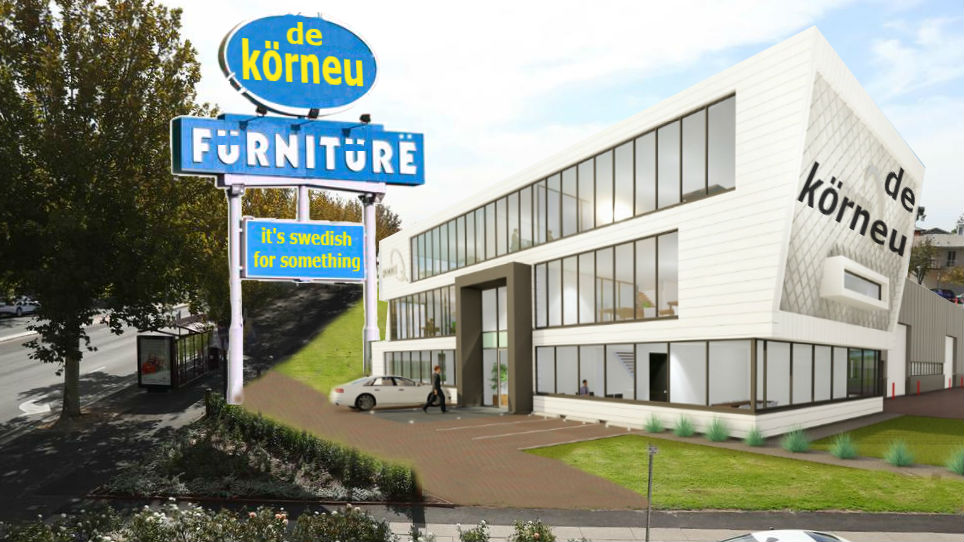 New De Korneu site