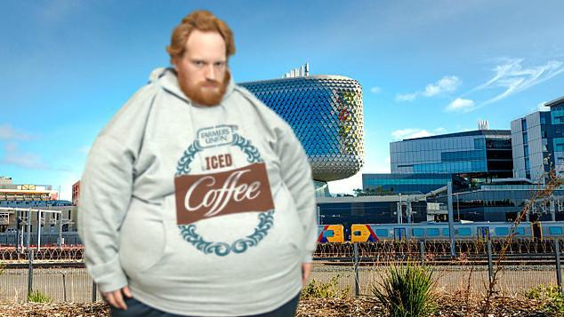 The new Iced Coffee hoodie