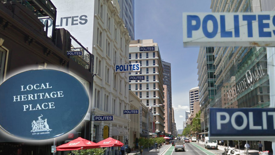 Every Polites building will be heritage-listed