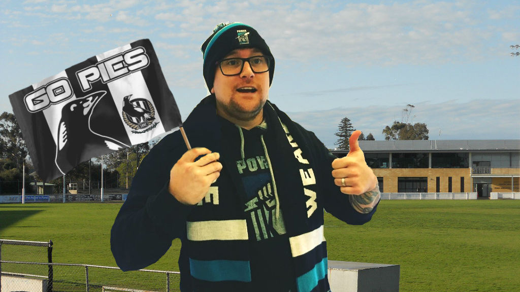 A typical Port supporter